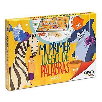 Társasjáték Mi Primer Juego De Palabras Cayro (ES)