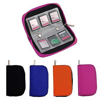 Sd pamäťová karta Skladovanie / nosenie puzdrá -protector peňaženka