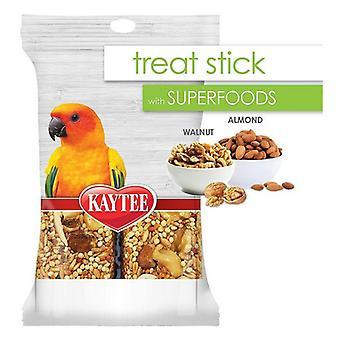Kaytee Superfoods Avian Treat Stick - Walnut & Almonds - 5.5 oz