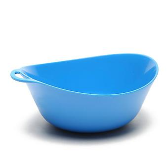 New LIFEVENTURE Ellipse Bowl Camping Cooking Eating Blue