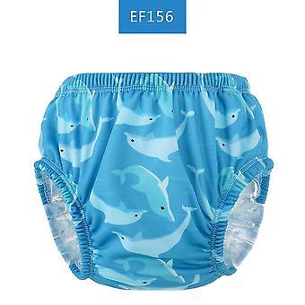 Baby Plenky Plavecké kalhoty Znovupoužitelná tkanina