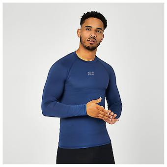 Everlast Mens Long Sleeve Base Layer Top Moisture Wicking Training Fitness Gym