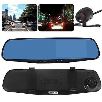 Hd 1080p Carro Dvr Câmera Veículo Dianteiro e Traseiro Dupla Câmera Gravador de Tráfego
