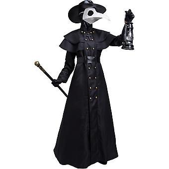 Halloween voksen nebb kråke lang nebb maske kostyme