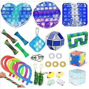 Sensory Decompression Toy Set Puzzle Diy Combination Toys -13
