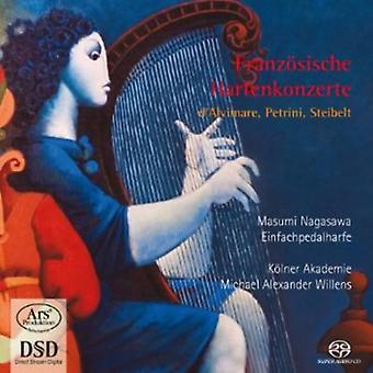 Masumi Nagasawa - Franz Sische Harfenkonzerte: D'Alvimare, Petrini, Steibelt [SACD] USA import