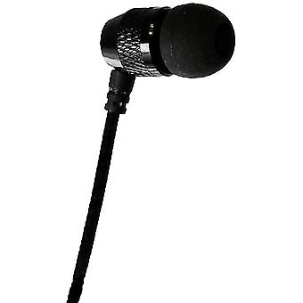 Far End Gear Short Buds - Short Cord Single Stereo-to-Mono Earbud - Black