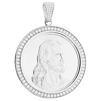 Premium bling - wisiorek medalion komunii srebro