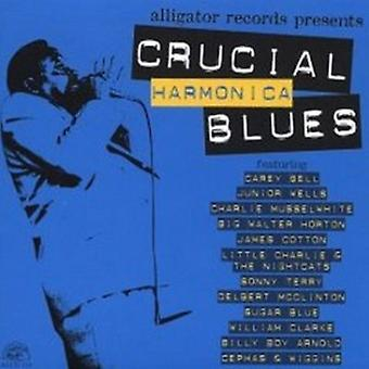 Blues de armónica fundamental - Crucial de armónica de Blues [CD] USA importar