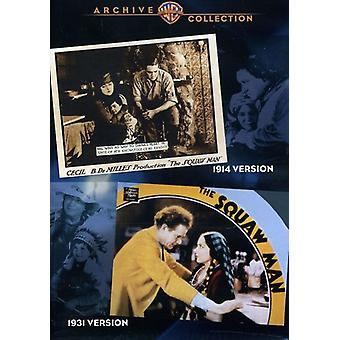 Importer des The Squaw Man (Double Feature) [DVD] é.-u.