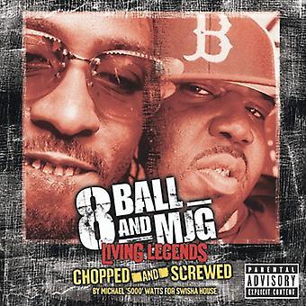 8Ball & Mjg - Chopped & Screwed [CD] USA import