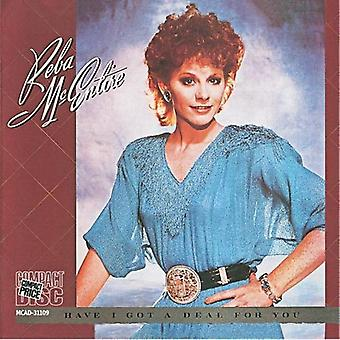 Reba McEntire - Have I Got a Deal for You [CD] USA import