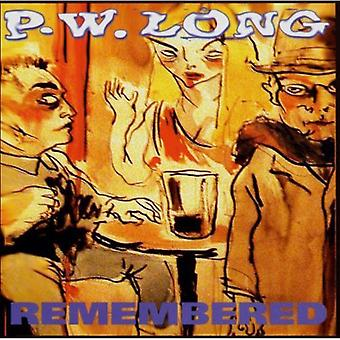 P.W. Long - Remembered [CD] USA import