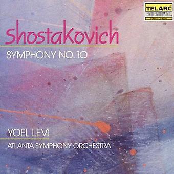 D. Shostakovich - Shostakovich: Symp;Hony No. 10 [CD] USA import