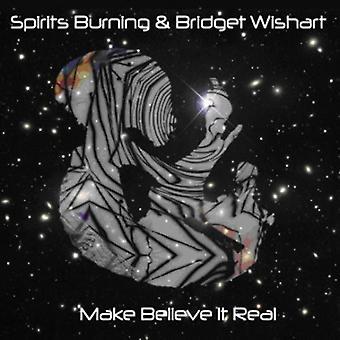Spirits Burning - Make Believe Its Real [CD] USA import