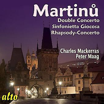 Martinu / Mackerras / Maag - doble concierto / Sinfonietta Giocosa / import de USA de Rhapsody [CD]