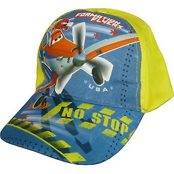 Meninos Disney Pixar aviões empoeirado Baseball Cap chapéu com costas ajustável
