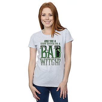 Trollkarlen från Oz kvinnors bra häxa ond häxa T-Shirt