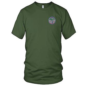 US Army - 11 Special Forces Group Alpha broderad Patch - Mens T Shirt