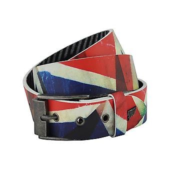 Lowlife Jack Leather Belt in Full Colour
