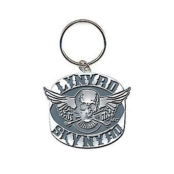 Lynyrd Skynyrd Keyring Keychain Biker Patch classic Logo new Official