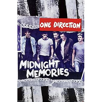 One Direction 1D - Midnight Memories Poster Print