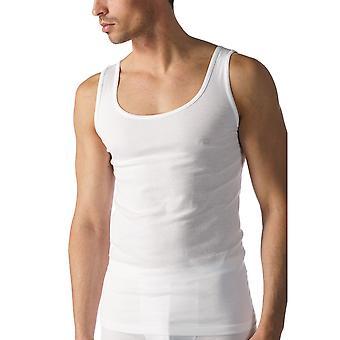 MEY 49000 muži ' s bílý bavlněný tank vesta nahoře