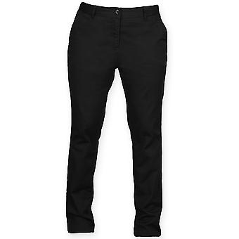 Front Row Ladies Stretch Tagless Chinos Trousers