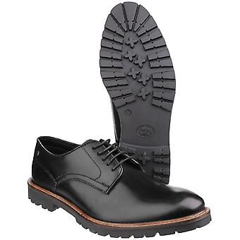 Basis Londen Mens Barrage Lace up Derby Casual leerschoenen