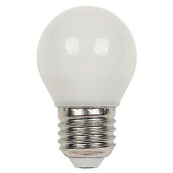 LED Lâmpada 5 Watt E27 globo G45 dimmable branco quente