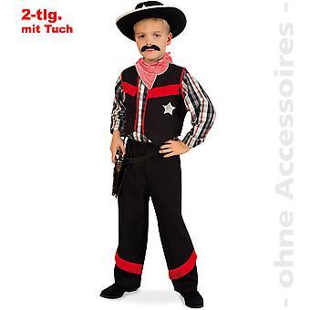 Cowboy kostume børn vilde vesten gunfighter Arizona rancher barn kostume