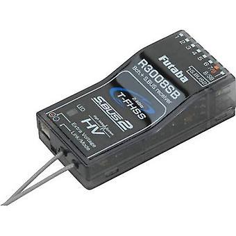 8 チャンネル受信機フタバ R3008SB 2, 4 GHz コネクタ システム双葉