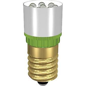Signal konstruktion LED-indikator ljus E14 vit 12 V DC, 12 V AC 13000 MCD MCRE148362