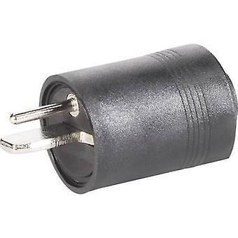 BKL Electronic 0205003 Audio presa Plug, dritto numero di pin: 2 Black 1/PC