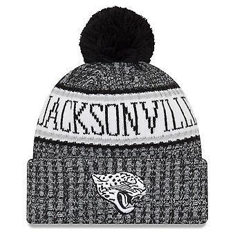 New era NFL sideline 2018 Bobble Cap Jacksonville Jaguars