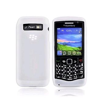 OEM Blackberry Silicone Case for Blackberry 9100 3G - Frost White