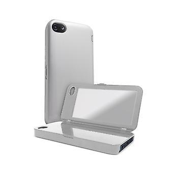 5 pack - iFrogz housse de glaçage pour Apple iPhone 5 - Silver