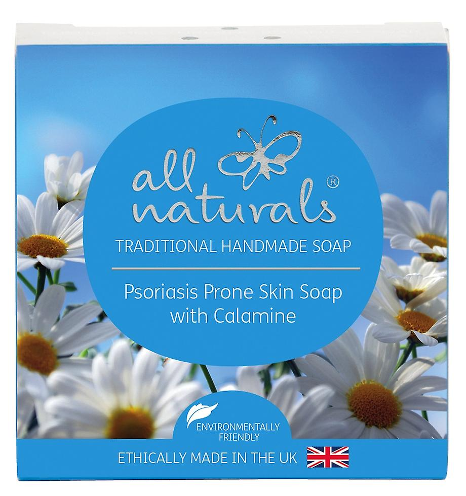 All Naturals Organic Psoriasis Soap. Calamine and Chamomile 100g
