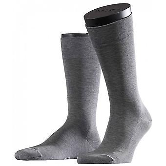 Falke-Melange sensible Malaga Midcalf Socken - hellgrau