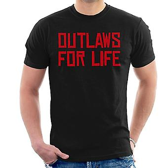 Outlaws Life Red Dead Redemption Miesten t-paita