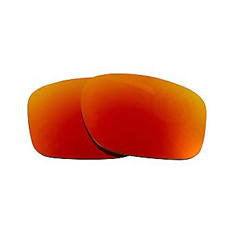 Polarized Replacement Lenses for Oakley Sliver Sunglasses Red Anti-Scratch Anti-Glare UV400 by SeekOptics