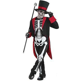 Bnov Herr Knochen schwarzumrandeten Kostüm