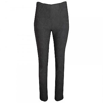 Laurie Textured Slim Leg Pull On Trousers