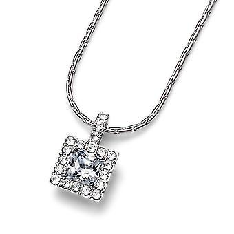 Oliver Weber Pendant Age Rhodium Crystal