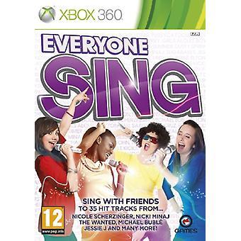 Alle synger (Xbox 360)-fabriks forseglede