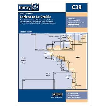 Imray kaavion C39 - Lorient Le Croisic jäseneltä Imray - 9781846239335 kirja