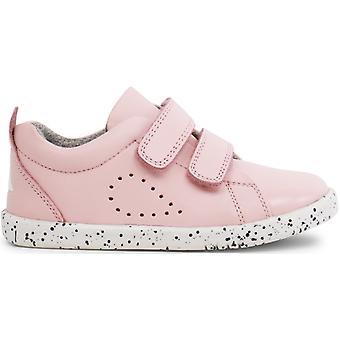 Bobux I-walk chicas hierba corte zapatos rosa concha
