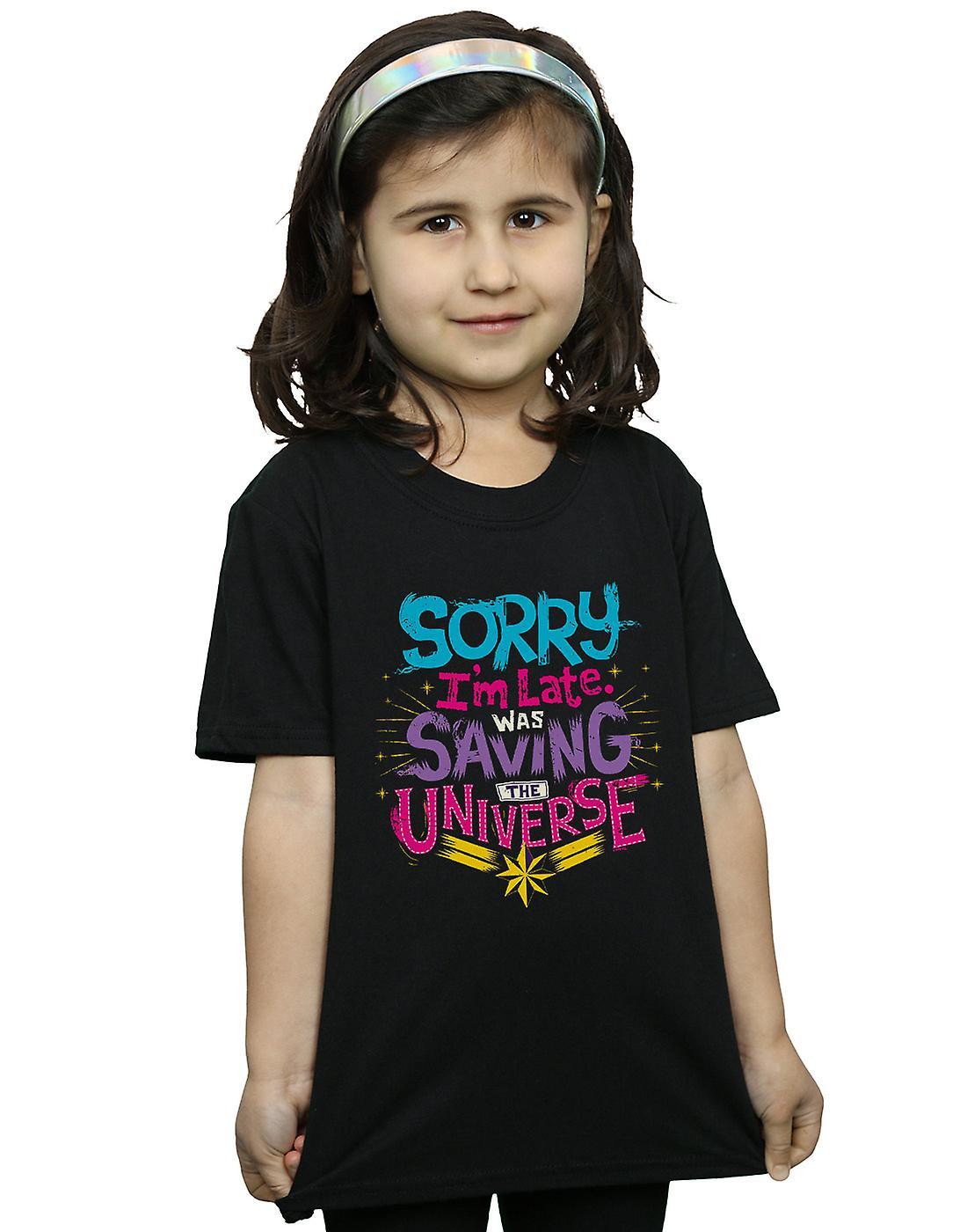 Marvel Girls Captain Marvel Saving The Universe T-Shirt