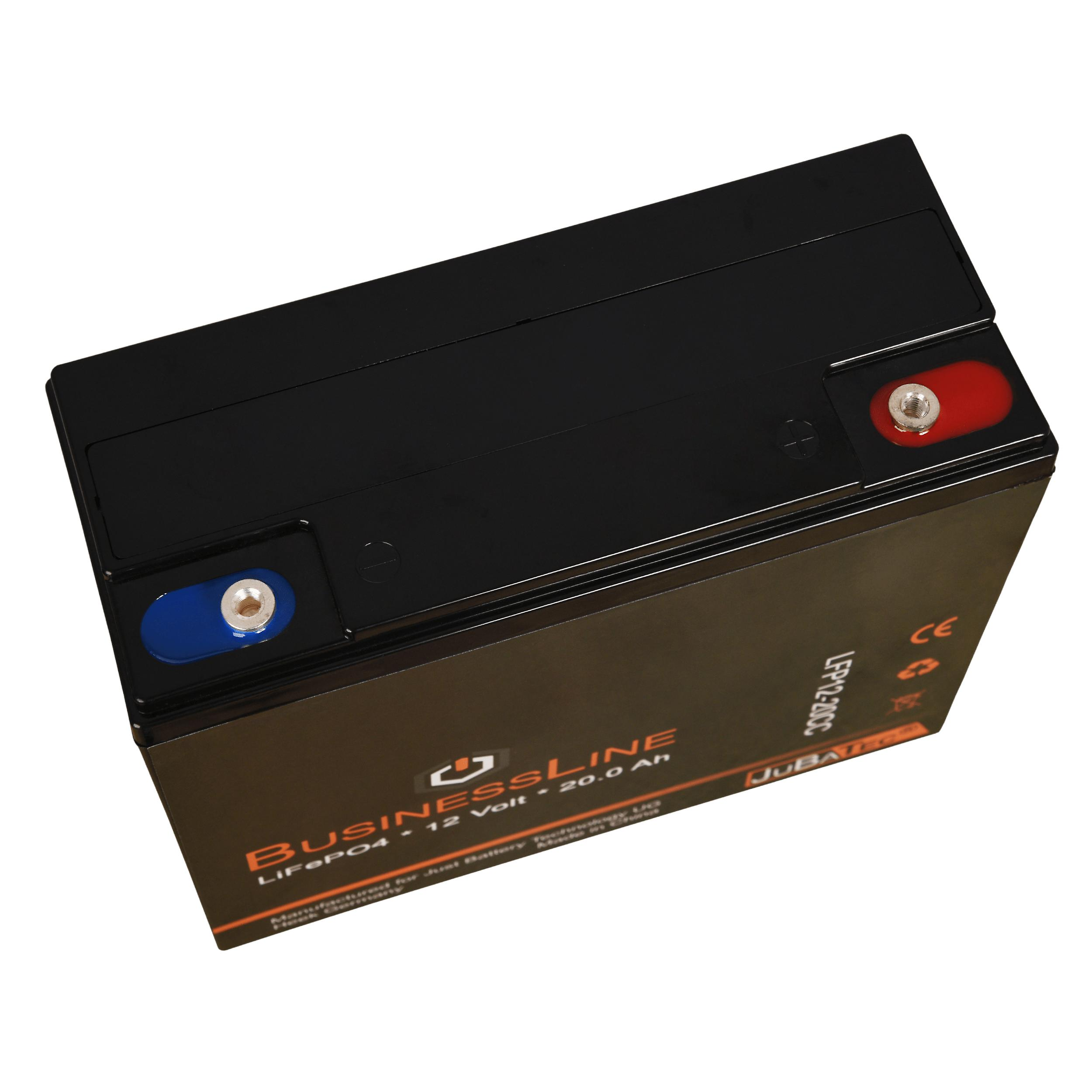 LiFePO4 battery 12 V 20.0 Ah with BMS (Battery Management System)
