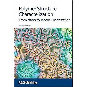 Polymer struktur karakterisering: Från Nano till makro organisation (frågor i miljömässiga Scienc)